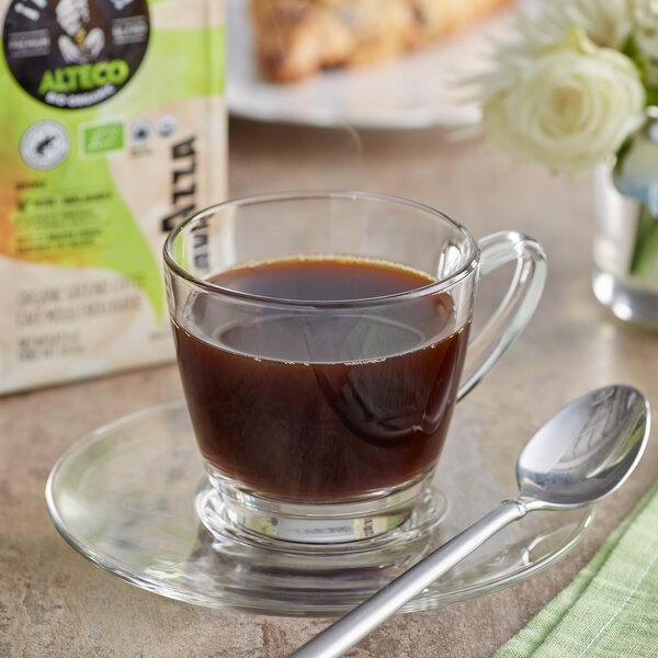 Lavazza Organic Tierra! Alteco Coarse Ground Coffee 8 oz. - 6/Case Main Image 2
