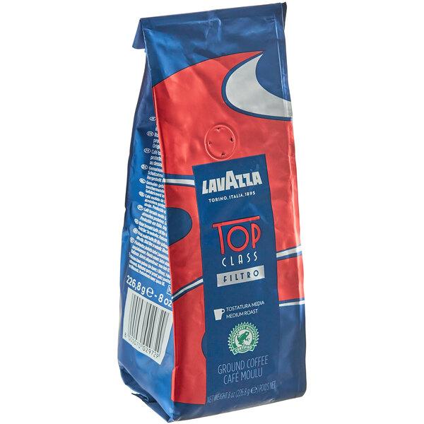 Lavazza Top Class Filtro Coarse Ground Coffee 8 oz. - 6/Case Main Image 1