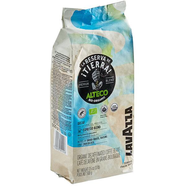 Lavazza Organic Tierra! Alteco Dek Decaf Whole Bean Espresso 1.1 lb. Main Image 1