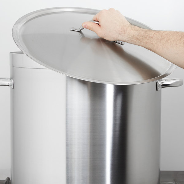 """Vollrath 3717C 18 1/2"""" Centurion Domed Cover"""