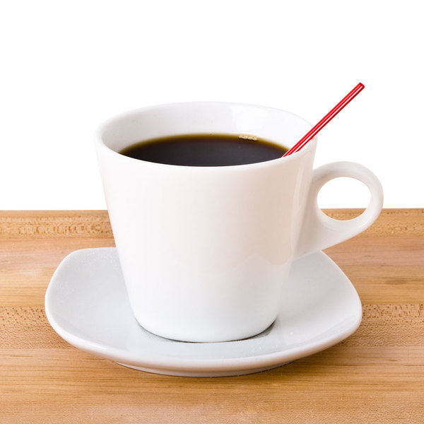 """Choice 5"""" Red and White Unwrapped Coffee Stirrer - 1000/Pack Main Image 2"""