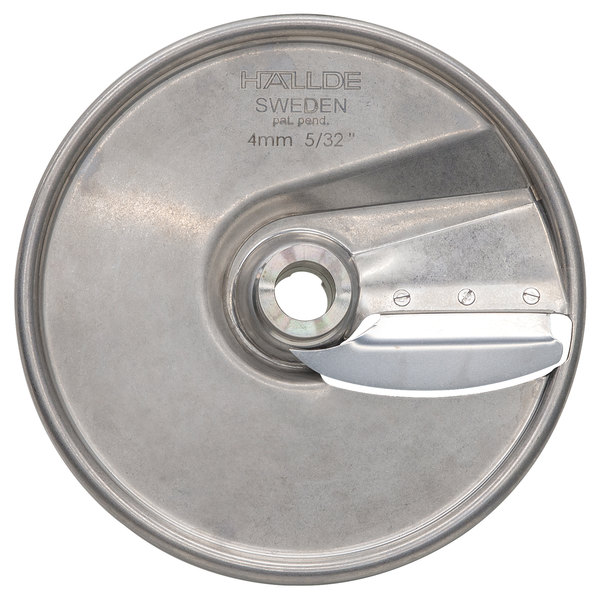 """Hobart 15SLICE-5/32-SS 5/32"""" Stainless Steel Slicing Plate Main Image 1"""