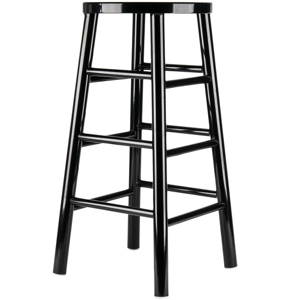 Give the guests in your bar a sturdy place to sit with the Lancaster Table u0026 Seating Spartan Series black metal barstool.  sc 1 st  Webstaurant Store & Lancaster Table u0026 Seating Spartan Series 30
