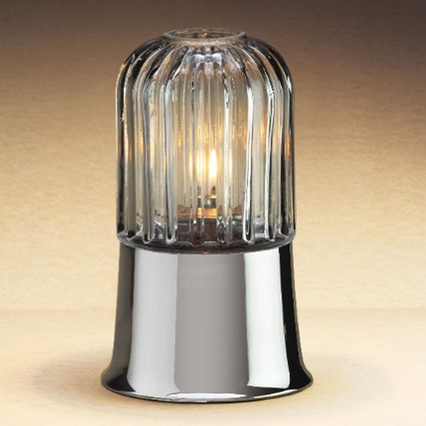 Sterno Products 85350 Table Lamp Cathedral Clear Globe