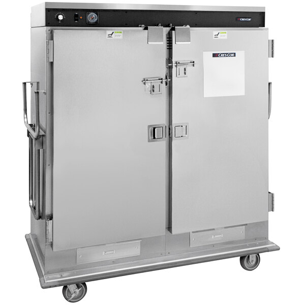 Cres Cor CCB150LV1 Insulated Heated Stainless Steel Banquet Cart Main Image 1