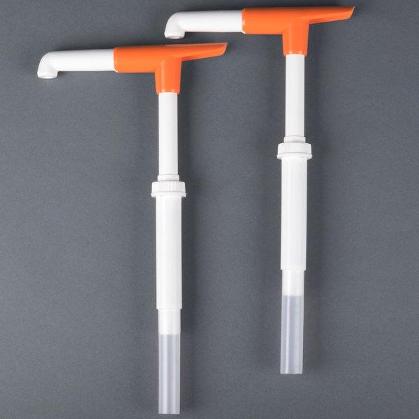 San Jamar P7400 1 oz. Thick Condiment Dispenser Mega Pelican Pump  - 2/Pack