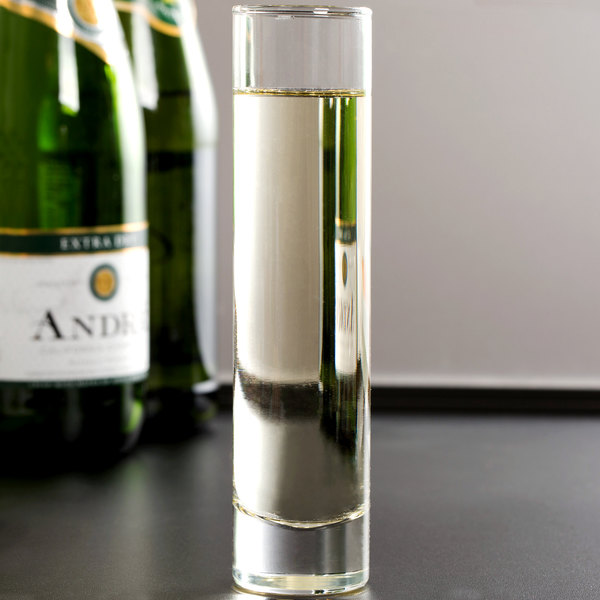 Libbey 2824 6.75 oz. Flute Glass / Bud Vase - 24/Case