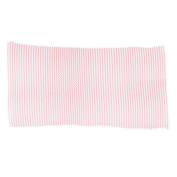 2' Red Plastic Mesh Bar Mat / Shelf Liner