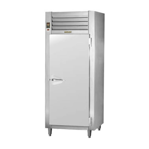 Traulsen RHT132EUT-FHS Stainless Steel 26 Cu. Ft. One Section Solid Door Extra Wide Reach In Refrigerator - Specification Line