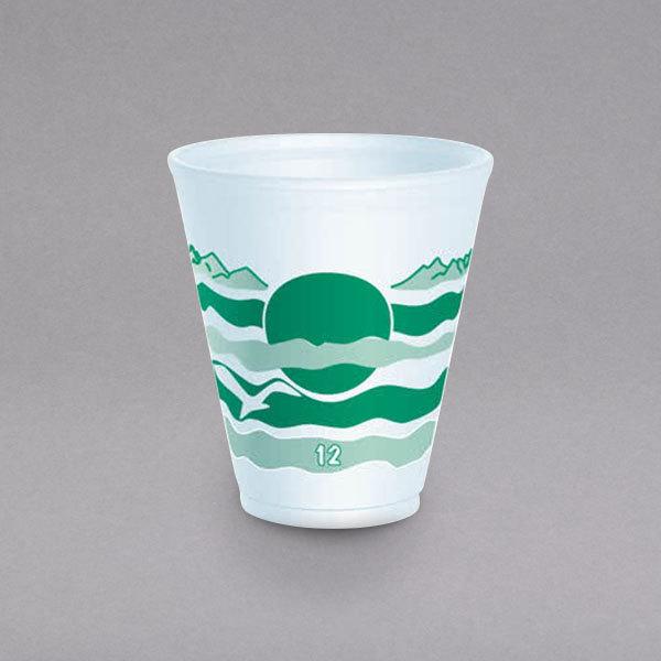 Dart 12LX16H 12 oz. Horizon Foam Cup - 1000/Case