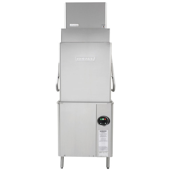 Hobart AM15VLT 2 Advansys Ventless Tall High Temperature Dishwasher With Booster Heater 208 240V 3 Phase