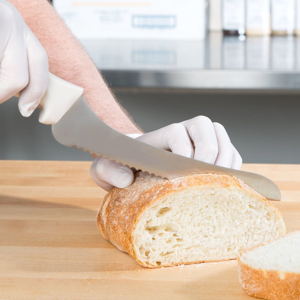 """9"""" Offset Serrated / Wavy Edge Bread and Sandwich Knife"""