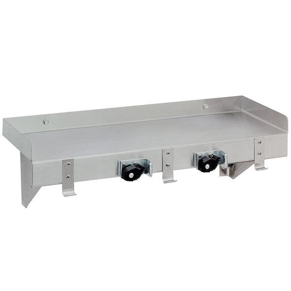 """Advance Tabco K-246 36"""" Mop Sink Utility Shelf"""