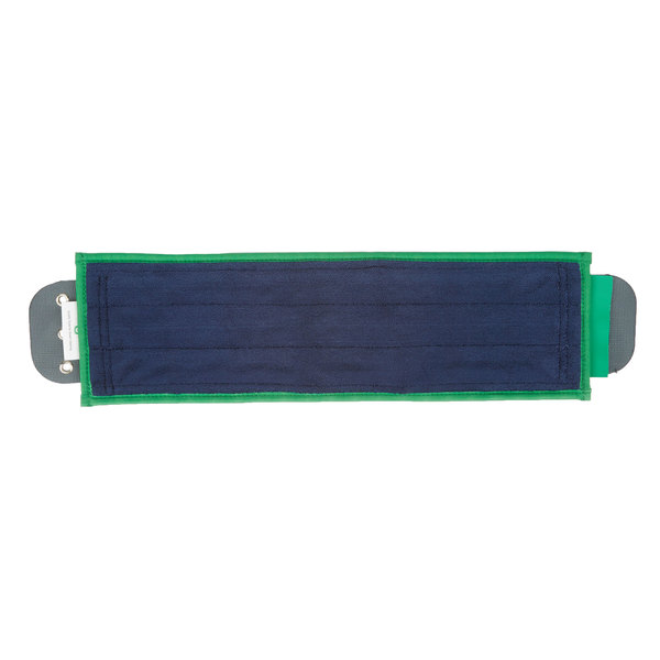 "Unger DM400 SmartColor 16"" Green Damp Mop Pad"