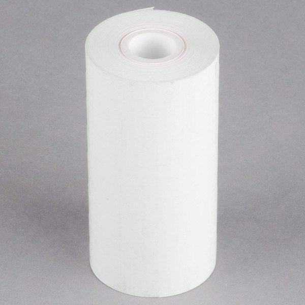 """Point Plus 4 1/4"""" x 115' Thermal Cash Register POS Paper Roll Tape - 50/Case Main Image 1"""