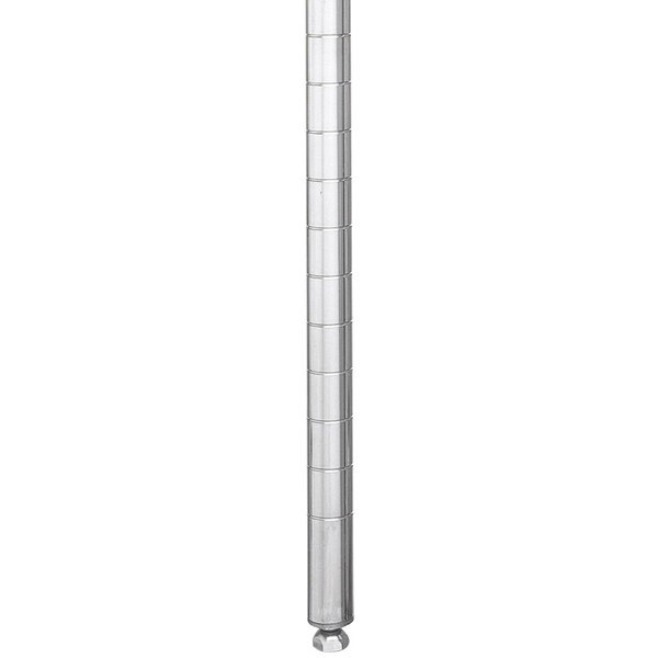 """Metro 27PS Stationary Super Erecta SiteSelect 27"""" Stainless Steel Post"""
