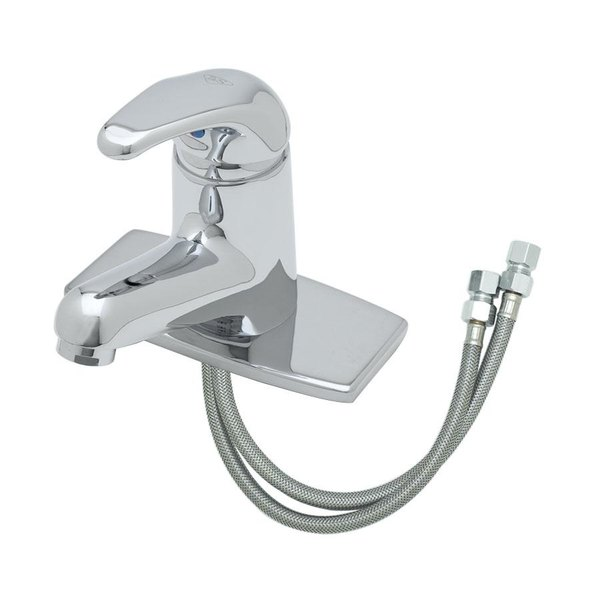 8 spread faucet decorative bathroom ts b2703vf05 deck mount single lever faucet with flexible supply lines 58