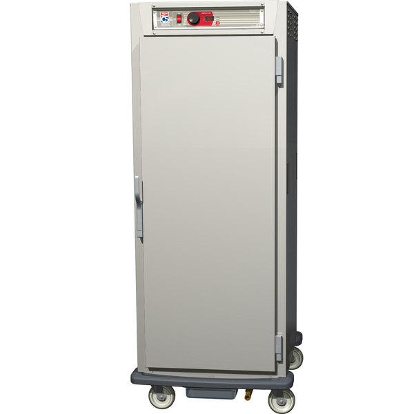 Metro C589-SFS-LPFS C5 8 Series Reach-In Pass-Through Heated Holding Cabinet - Full Solid Doors Main Image 1