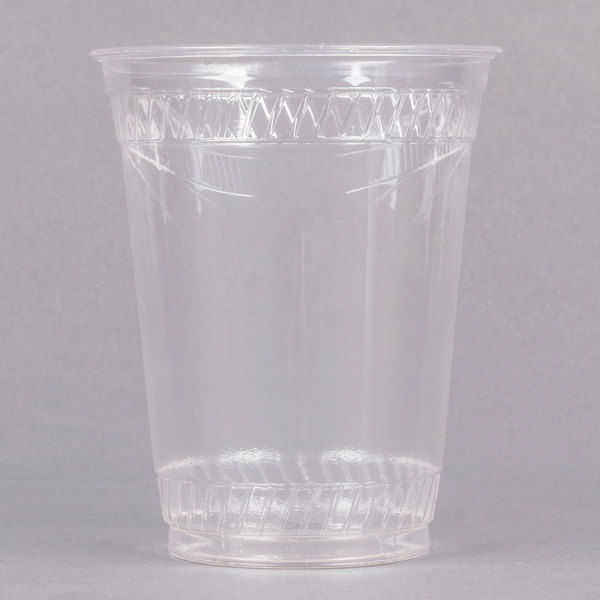 Fabri-Kal GC16S Greenware 16/18 oz. Compostable Clear Plastic Cold Cup  - 1000/Case