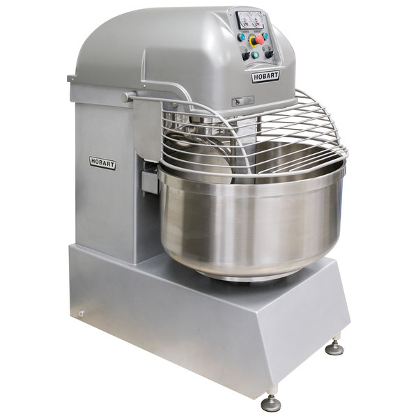 Hobart Legacy HSL180-1 150 qt. / 180 lb. Two-Speed Spiral Dough Mixer - 208V, 3 Phase, 6 HP Main Image 1