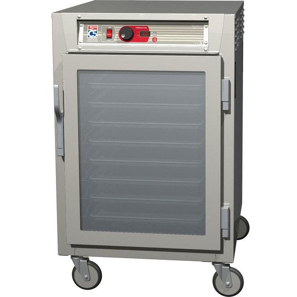 Metro C585-SFC-LPFC C5 8 Series Reach-In Pass-Through Heated Holding Cabinet - Clear Doors