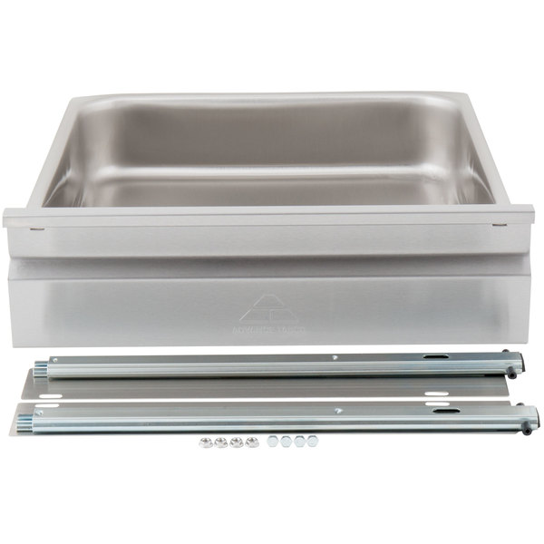 """Advance Tabco SS-2020 Deluxe Work Table Drawer with Slides - 20"""" x 20"""" x 5"""" Main Image 1"""