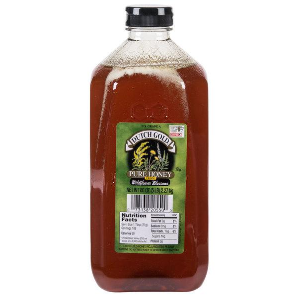 Dutch Gold 5 lb. Wildflower Honey