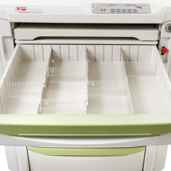"""Metro FL113 3"""" Drawer Divider Kit for Metro Mini Bar Restocking Cart Main Image 2"""