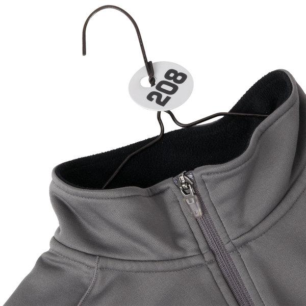 Cal-Mil 869-2 Round Plastic Coat Check Tag Set - 201-300