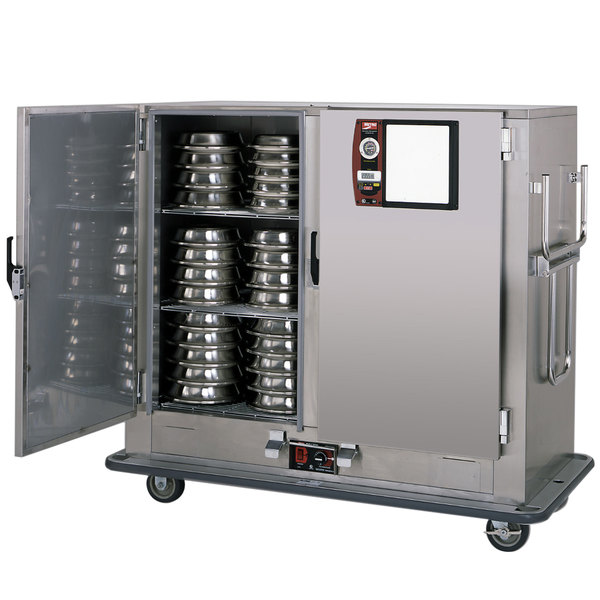 Metro MBQ-150D Insulated Heated Banquet Cabinet Two Door Holds up to 150 Plates 120V