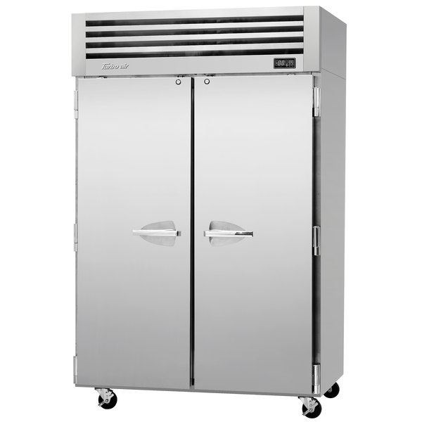 "Turbo Air PRO-50F-N 52"" Premiere Pro Series Solid Door Reach in Freezer Main Image 1"