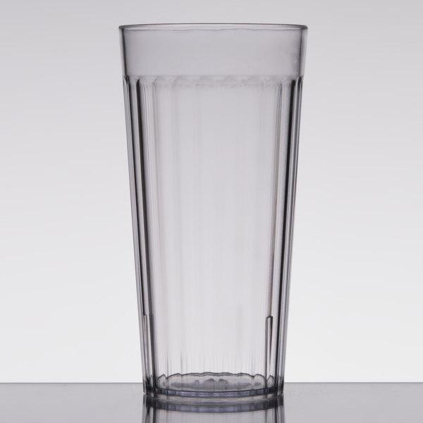 e2a1d0ad1d5 Carlisle 012007 Bistro 20 oz. Clear SAN Plastic Tumbler - 72/Case