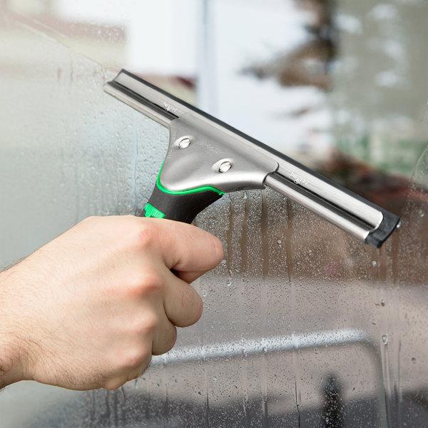 "Unger ES250 ErgoTec 10"" Window Squeegee with Ergonomic Handle"