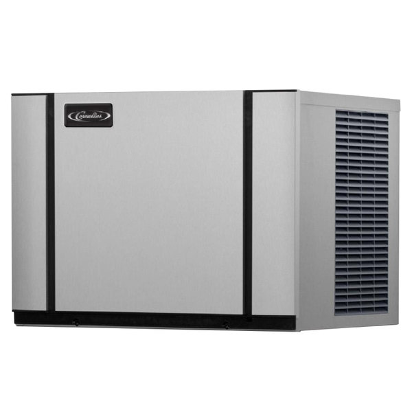 "Cornelius CNM0630AH6A Nordic Series 30"" Air Cooled Half Size Cube Ice Machine - 600 lb. Main Image 1"