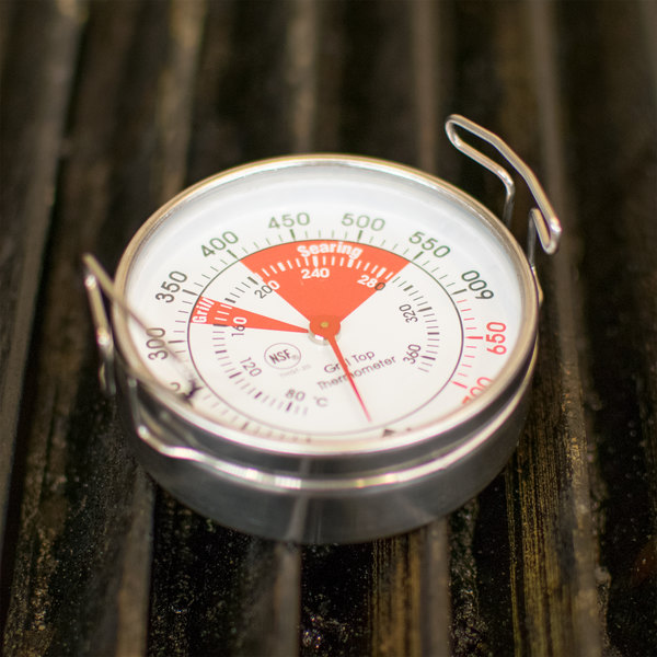 """2"""" Dial Grill Thermometer - NSF"""