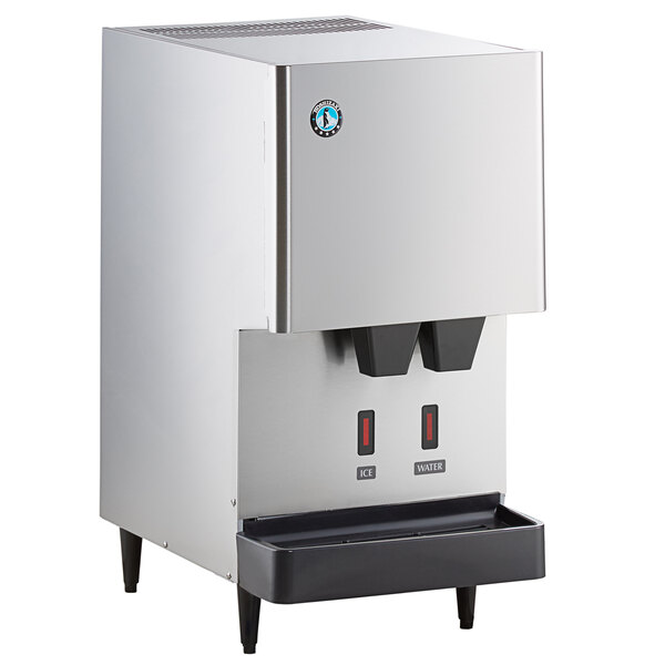 Hoshizaki DCM-500BAH-OS Opti-Serve Countertop Ice Maker and Water Dispenser - 40 lb. Storage Air Cooled Main Image 1