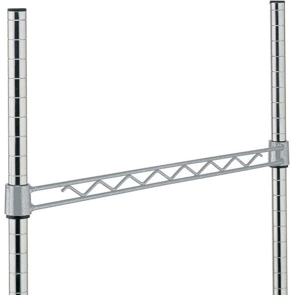 """Metro H118-DSH Silver Hammertone Hanger Rail 18"""""""