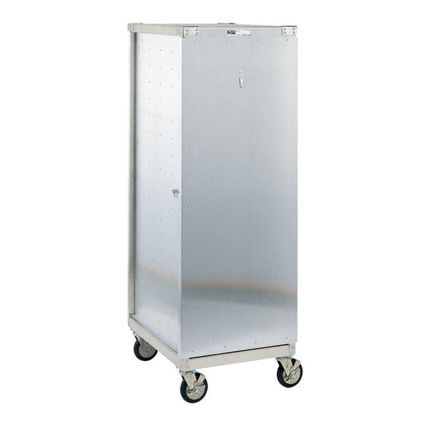 Metro CD3N 35 Pan End Load Uninsulated Bun / Sheet Pan Rack / Delivery / Storage Cabinet Enclosed with Lockable Door - Assembled Main Image 1