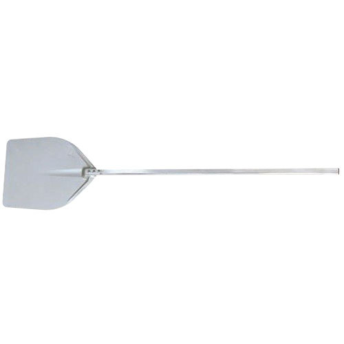 "American Metalcraft ITP1738 17 1/2"" x 18 1/2"" Deluxe All Aluminum Pizza Peel with 41"" Handle Main Image 1"