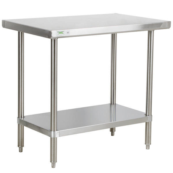 Coffee Table 36 X 24.Regency 24 X 36 16 Gauge 304 Stainless Steel Commercial Work Table With Undershelf