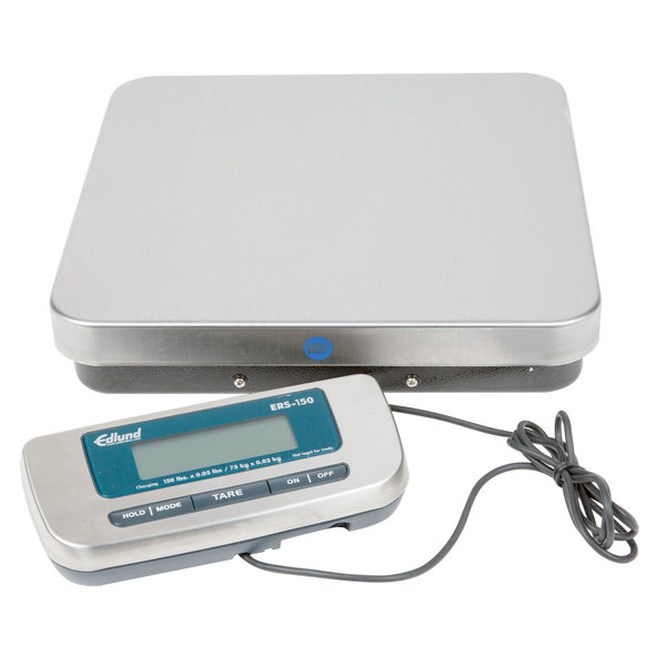 Edlund ERS-150 150 lb. Digital Receiving Scale Main Image 1