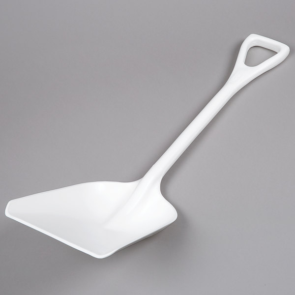 Carlisle 4107602 Sparta 11 inch Wide Food Service Shovel / Ice Shovel