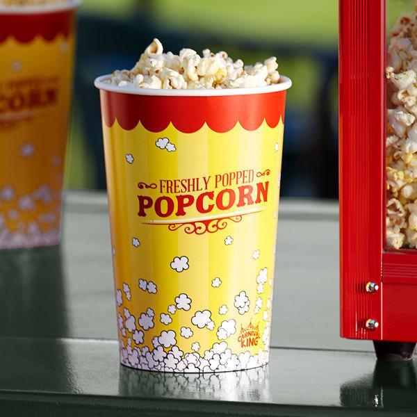 Carnival King 64 oz. Popcorn Bucket - 45/Pack Main Image 2