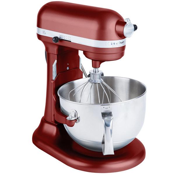KitchenAid KP26M1XGC Gloss Cinnamon Professional 600 Series 6 Qt. Countertop Mixer Main Image 1