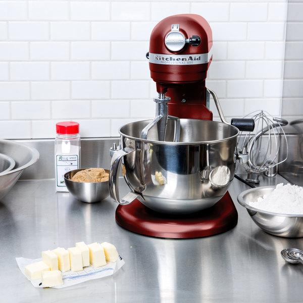 KitchenAid KP26M1XGC Gloss Cinnamon Professional 600 Series 6 Qt. Countertop Mixer