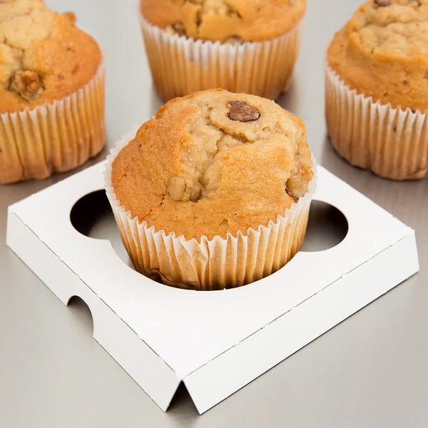 Reversible Cupcake / Muffin Insert - Holds 1 Muffin or Jumbo Cupcake - 200/Case Main Image 5