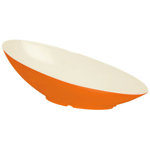 GET B-797-ST Keywest 1.1 Qt. Sunset Oval Slanted Melamine Bowl - 6/Case