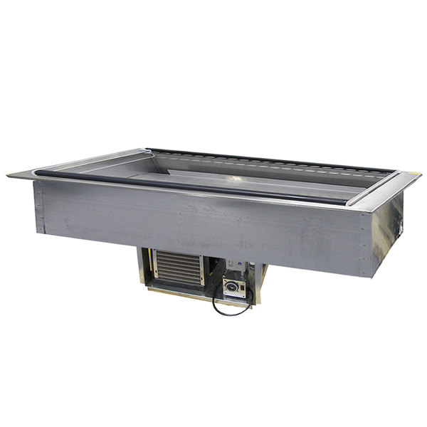 Delfield N8169-FA Five Pan Drop In Forced Air Refrigerated Cold Food Well Main Image 1