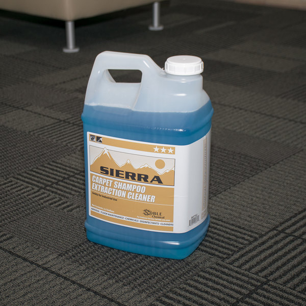 sierra by noble chemical carpet shampoo extraction cleaner