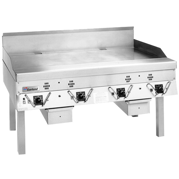 """Garland CG-72R-01 72"""" Master Series Liquid Propane Production Griddle with Thermostatic Controls - 180,000 BTU"""